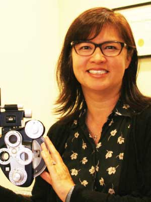 Dr Patricia Hom at Bella Eye Care Optometry