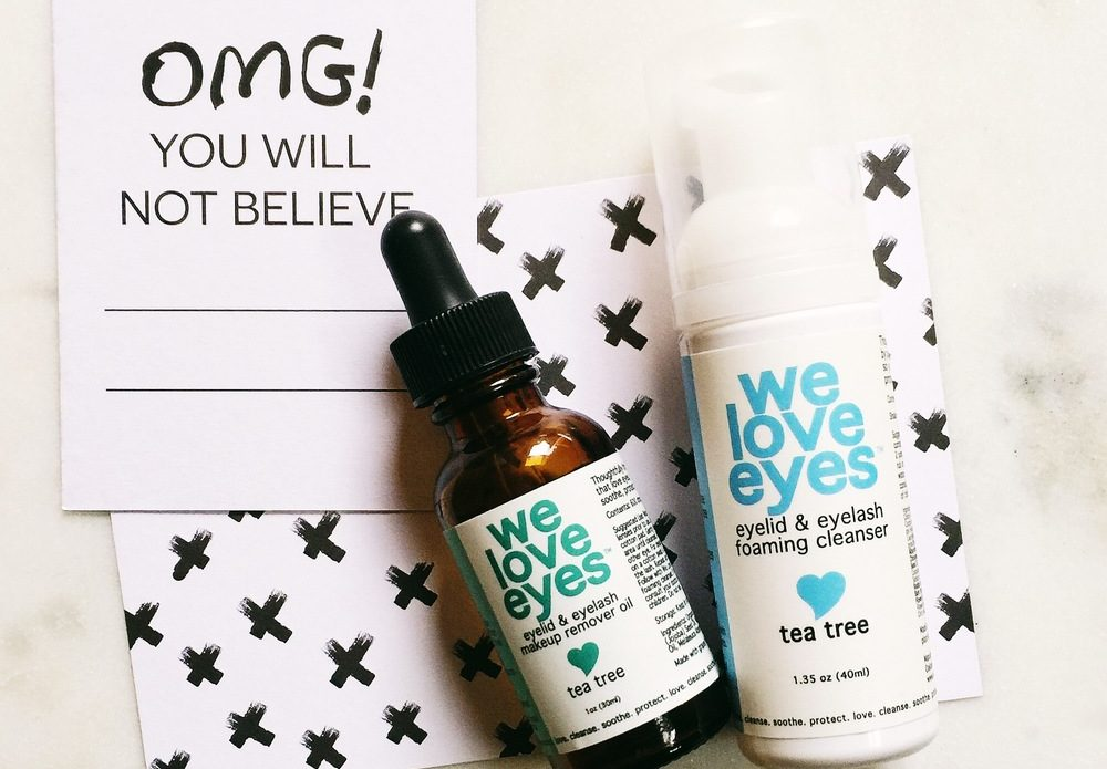 We Love Eyes makeup remover at Bella Eye Care - Newark, CA